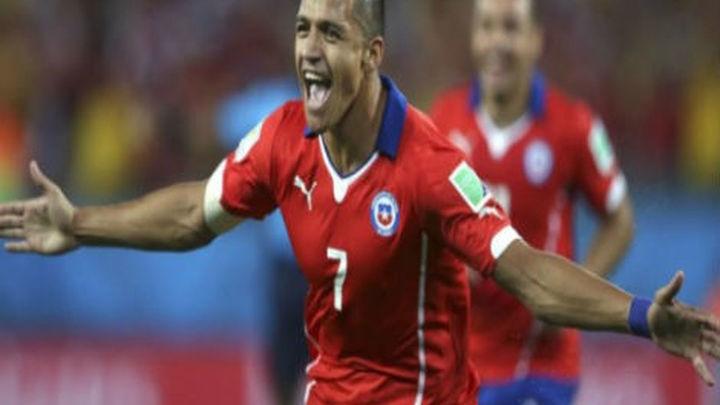 3-1. Chile se lo pone difícil a España con su victoria ante Australia