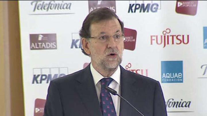 Rajoy ve la normalidad de la sucesión como prueba de solidez institucional
