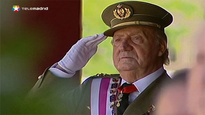 El Rey pasará a ser capitán general en la reserva después de su abdicación