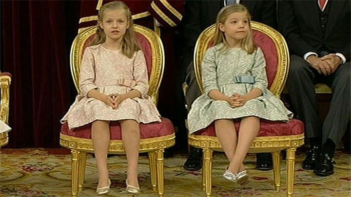La princesa Leonor y la infanta Sofía focos de atención
