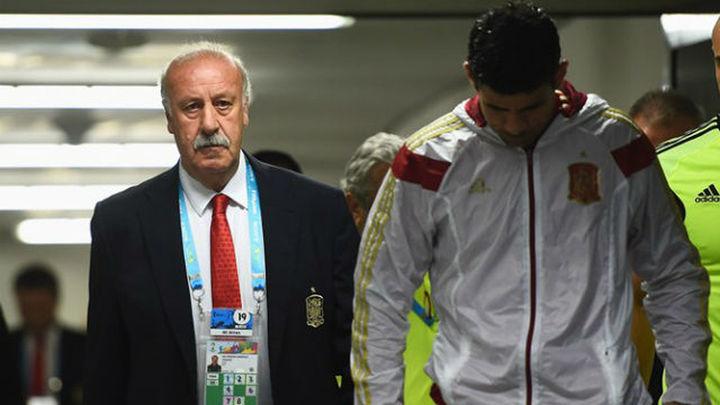 """Del Bosque: """"No es el momento para valorar mi futuro ni el de la selección"""""""