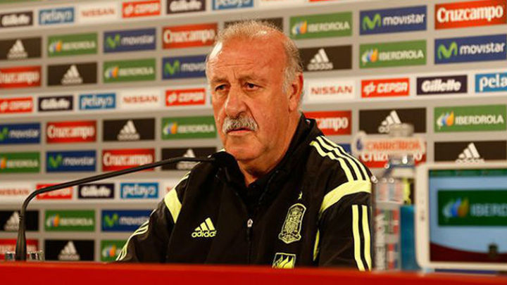 """Del Bosque: """"Si soy un estorbo para nuestro fútbol, me iré"""""""