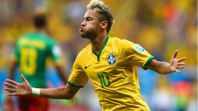 Neymar, Selección de Brasil