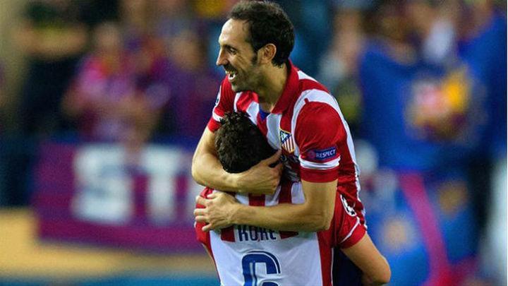 Koke y Juanfran renuevan con el Atleti