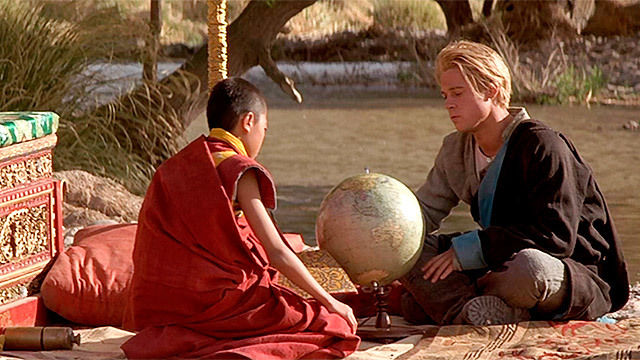 Los 'Siete años en el Tíbet' de Brad Pitt