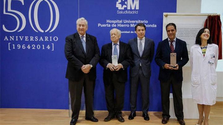 González celebra los 50 años del hospital Puerta de Hierro