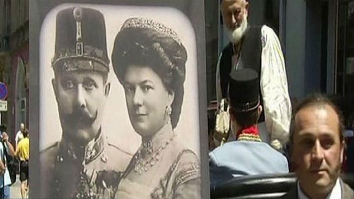 Sarajevo lanza un mensaje de paz en el centenario del atentado que abrió la Gran Guerra