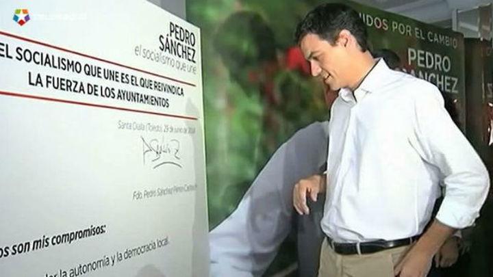 Pedro Sánchez obtuvo más de un tercio de los avales en Andalucía