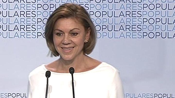 Rajoy anuncia al PP que el Gobierno estudiará reducir el número de aforados
