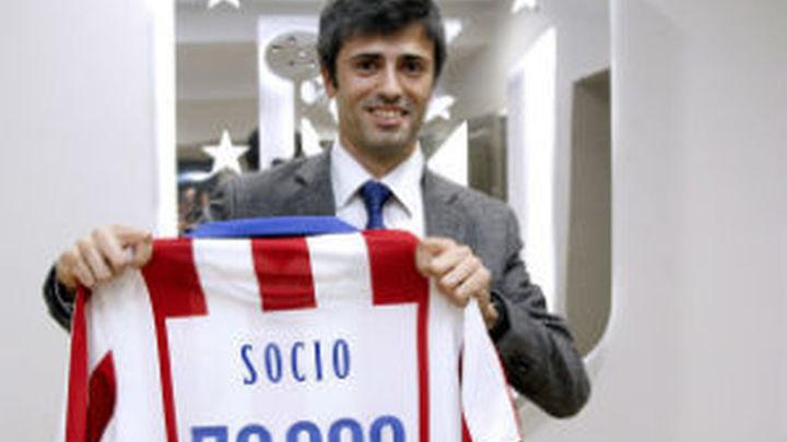 El Atlético llega a los 70.000 socios