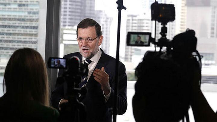"""Rajoy reitera que es prioritaria una """"regeneración democrática"""" en España"""