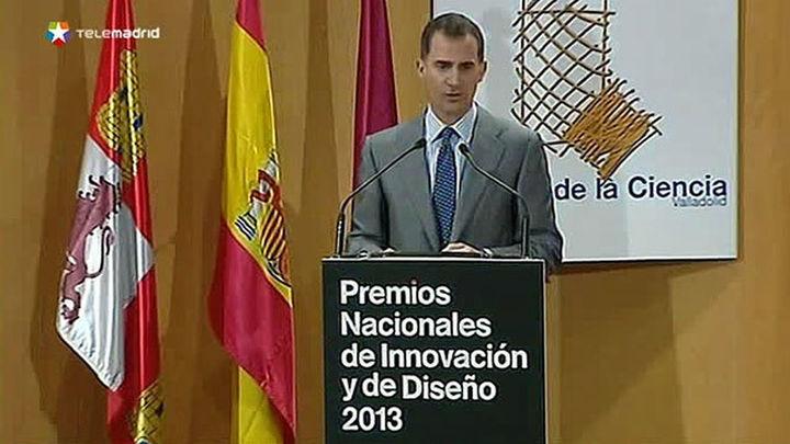 El Rey dice que innovación no es una opción sino una necesidad en un mundo global