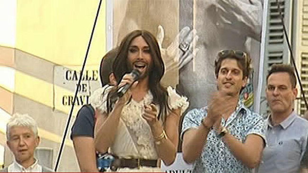 Conchita Wurst protagonista del pregón en Chueca del Orgullo Gay