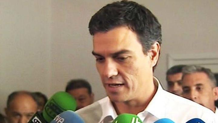 Los candidatos a la secretaría general del PSOE empiezan oficialmente su campaña