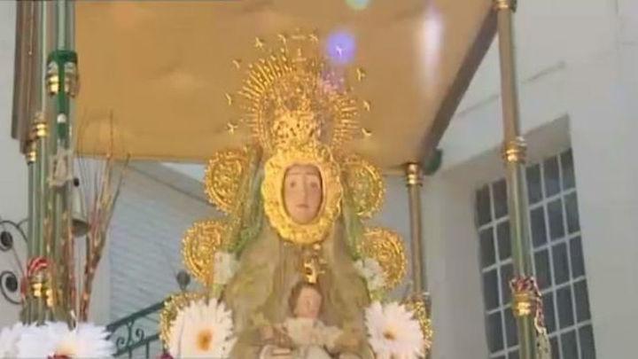 Getafe celebra su Romería Rociera en el Cerro de Los Ángeles