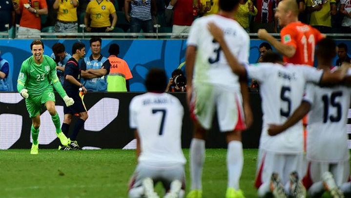 0-0 (3-4). Los penaltis acaban con la leyenda de Keylor Navas y Costa Rica