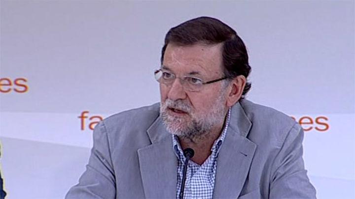 """Rajoy defiende que hay motivos para un """"patriotismo sereno,  cívico y orgulloso"""""""