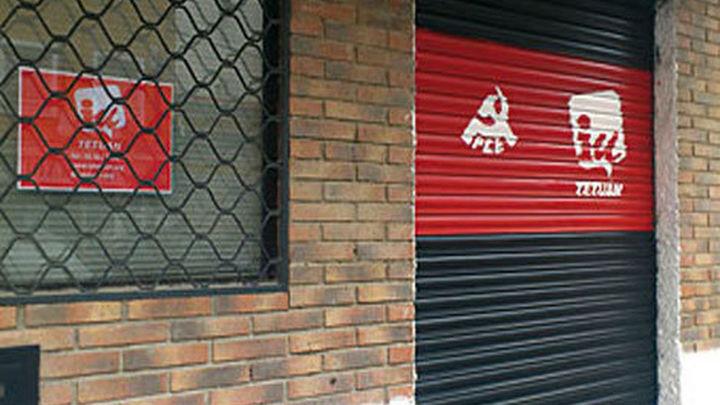 Detenido un anarquista por el ataque a una sede de IU en Madrid