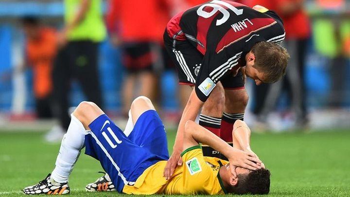1-7. Alemania humilla a Brasil