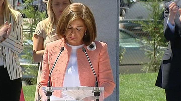 Botella rompe a llorar tras recordar la entereza de la familia de Miguel Ángel Blanco