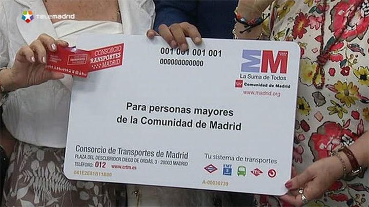 Los Mayores de 65 podrán adquirir gratis su tarjeta de transporte hasta el 15 de octubre