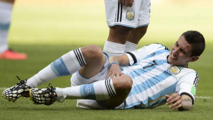 Di María se resintió de su lesión y se pierde la final