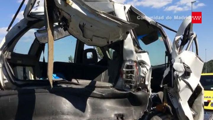 Tres heridos graves por accidentes de circulación en Guadarrama y Paracuellos