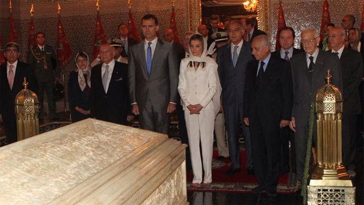 El Rey se despide de Mohamed VI satisfecho  de su viaje a Marruecos