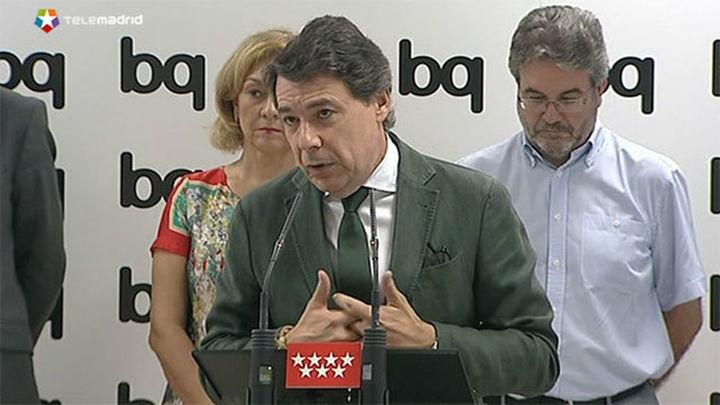 """González critica el modelo de financiación y dice no hará """"ni un ajuste más"""""""