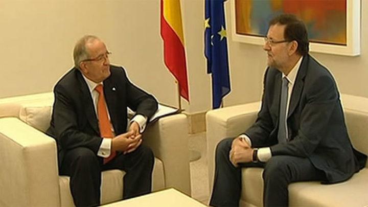 Rajoy y patronal de las pymes catalanas evitan hablar del proceso soberanista