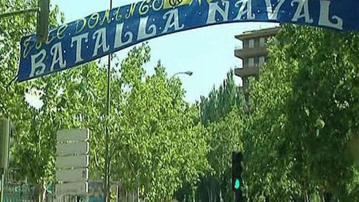 """La """"Batalla naval"""" de Puente de Vallecas"""