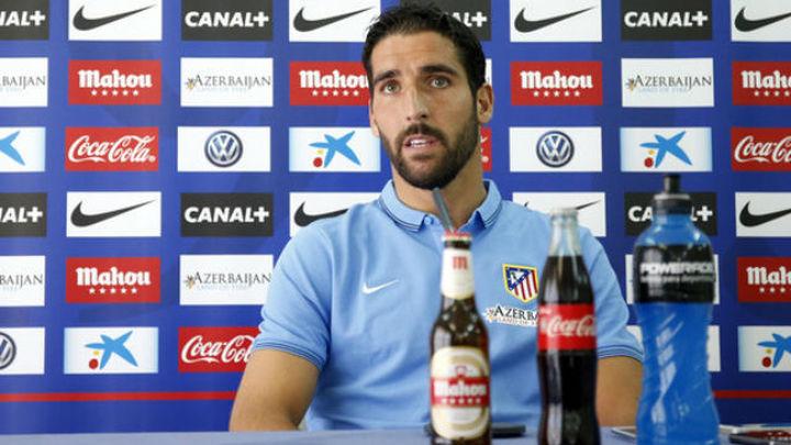 """Raúl García: """"No tenemos miedo a nada, el grupo es muy bueno"""""""