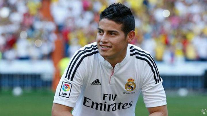 """James: """"Quiero hacer historia en el Real Madrid"""""""