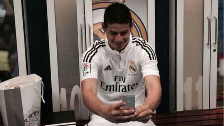 La 'Jamesmanía' sacude al Real Madrid