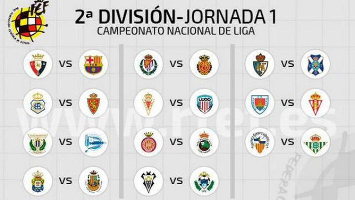 Calendario de la Liga Adelante 2014-15