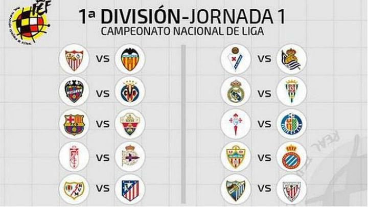 Calendario de la Liga BBVA 2014-15