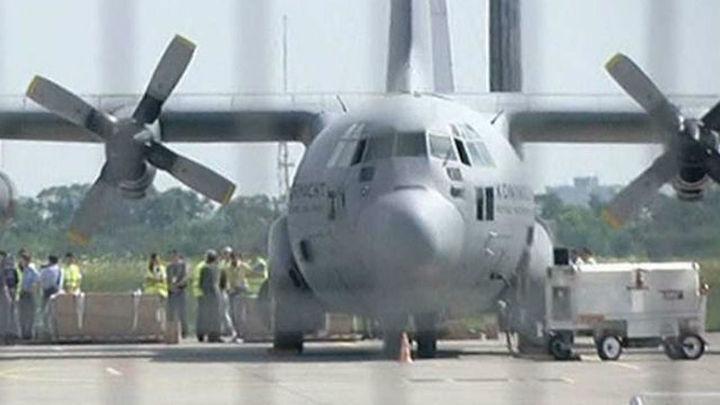 Holanda ha recibido ya 203 féretros de las víctimas del avión malasio