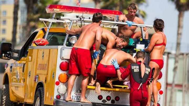 Fallece uno de los heridos tras la tormenta eléctrica en una playa de Los Angeles