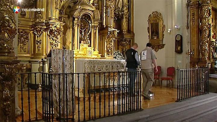 La búsqueda de Cervantes se retomará en un mes en la iglesia de las Trinitarias