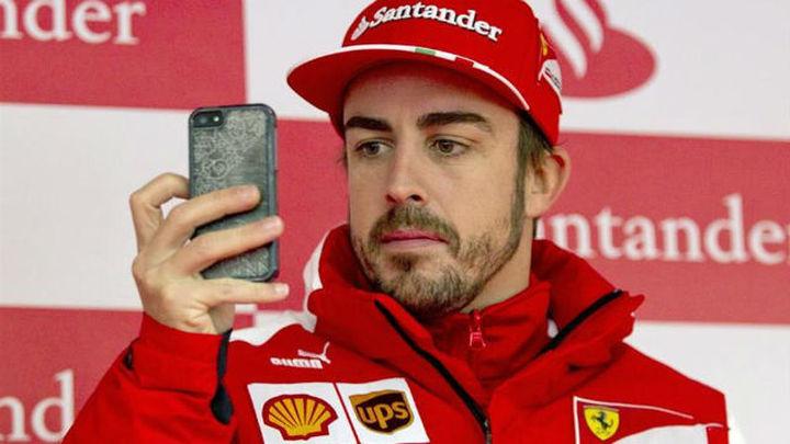 Alonso pide 35 'kilos' por año para renovar con Ferrari