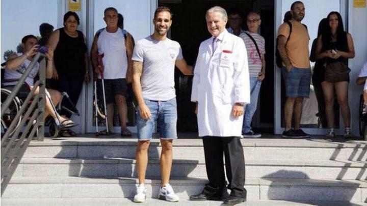 Jesús Gámez pasa examen médico con el Atlético