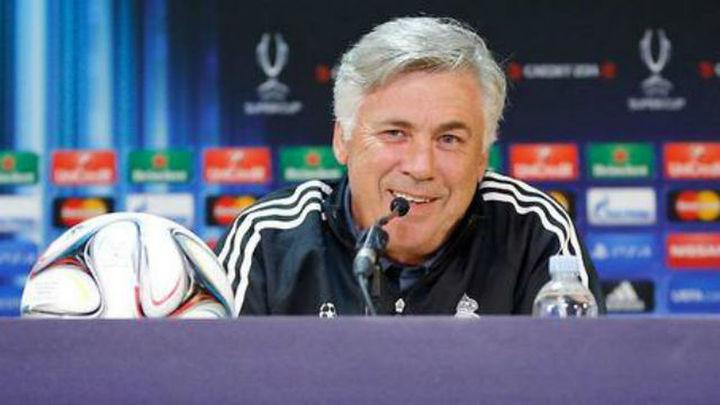 """Ancelotti: """"James y Kroos serán titulares, y Casillas se lo merece"""""""