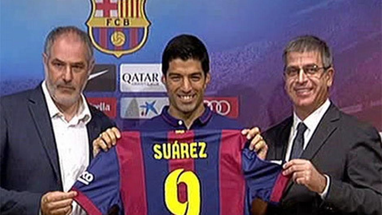 """Luis Suárez: """"Espero poder  disfrutar, cumplo un sueño"""""""