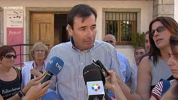 Tomás Gómez reclama la dimisión en las próximas horas del alcalde de Brunete