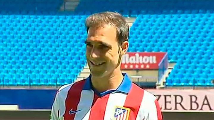 Gámez, presentado como nuevo jugador del Atlético