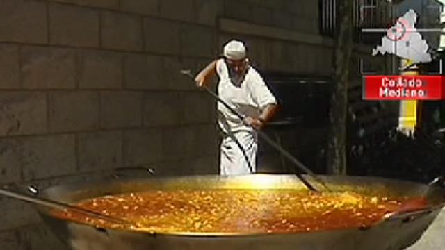 Paella gigante en Collado Mediano