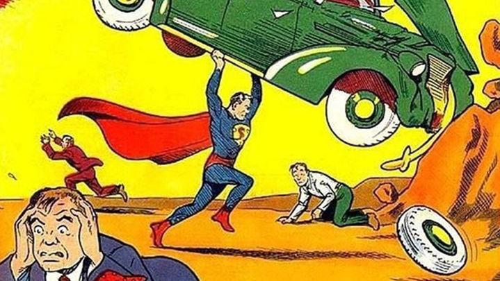 El primer cómic de Superman, vendido por 3,2 millones dólares