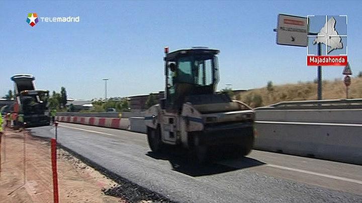 Al 30% el tercer carril de la M-503, la carretera más transitada de la región