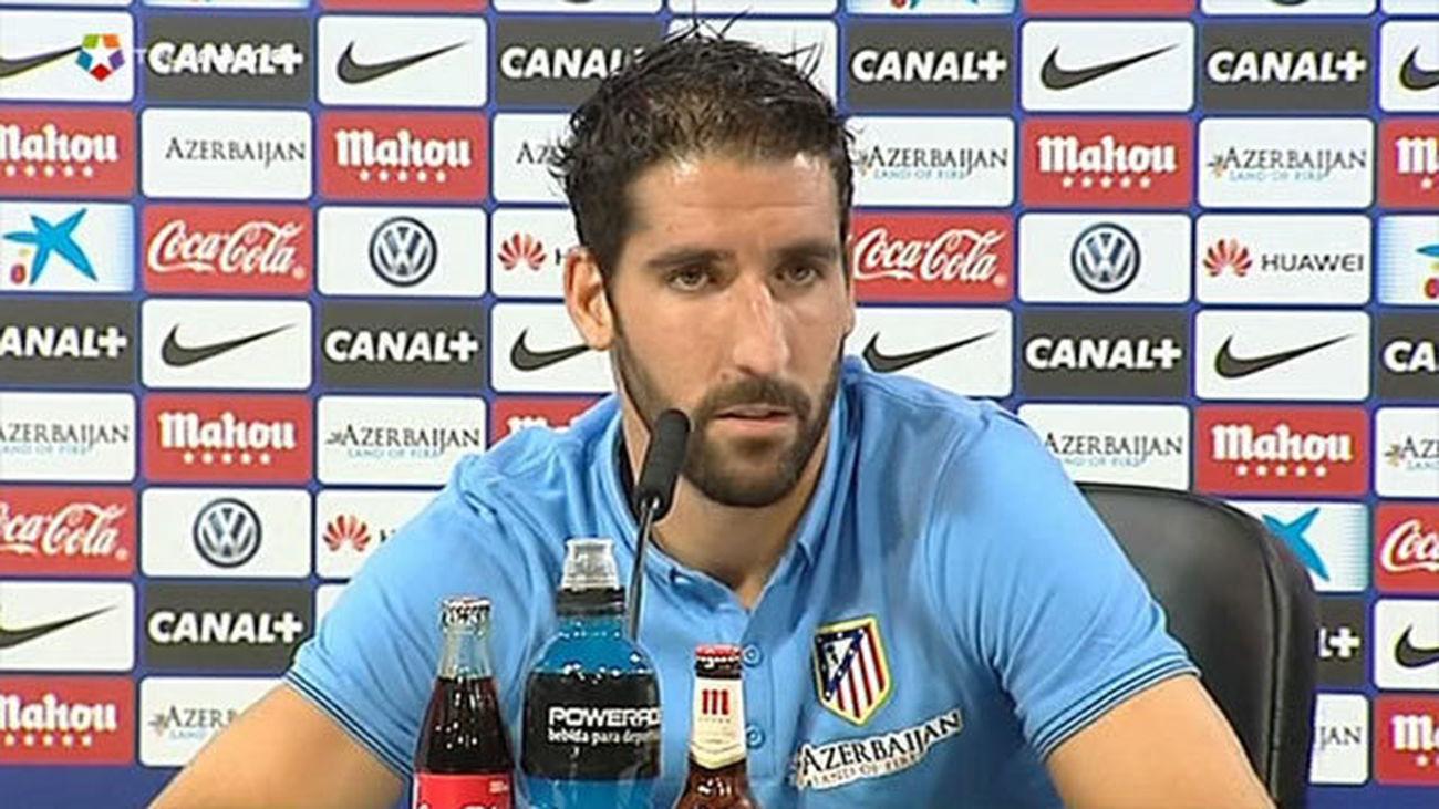 """Raúl García: """"Ojalá podamos hacer el mismo papel del año pasado en Champions"""""""