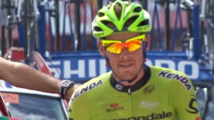 El italiano De Marchi vence en Alcaudete y Valverde sigue líder